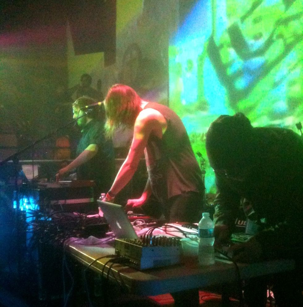 SXSW: Ford & Lopatin Turn Up the Heat at Klub Krucial