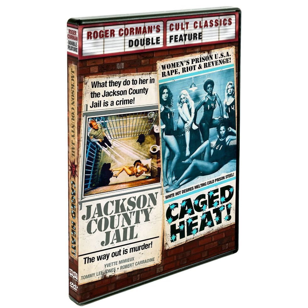 Grindhouse Classics Caged Heat and Jackson County Jail On Shout Factory DVD