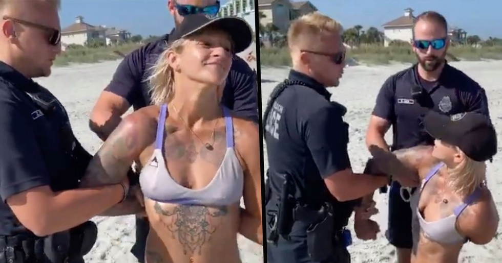 Acrobat Arrested by Myrtle Beach Police After 'Karen' Calls Police for Finding Bikini 'Offensive'