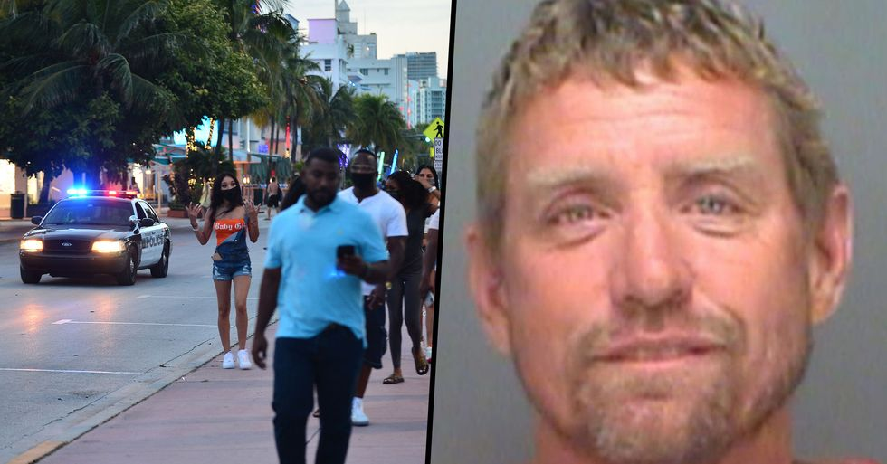 Florida Man Spat on Child Who Refused to Take off Mask and Said 'You Now Have Coronavirus'