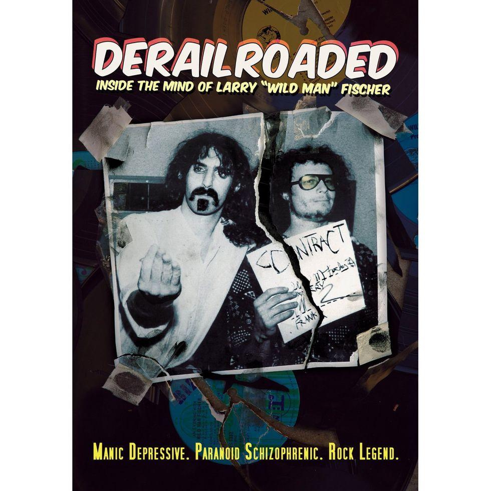 "Derailroaded: Inside The Mind Of Larry ""Wild Man"" Fischer On DVD"