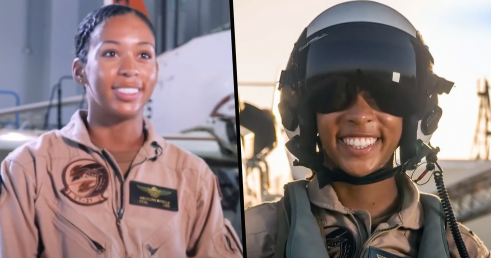 First Black Female Pilot in US Navy Receives Her 'Wings of Gold'