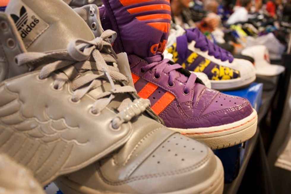 SneakerCon NYC: In Which We Discover There Are Such Things as Freddy Krueger Nikes