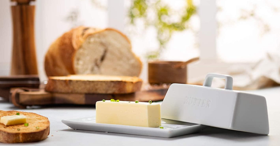 The 10 Best and Cutest Butter Dishes You Can Buy in 2020