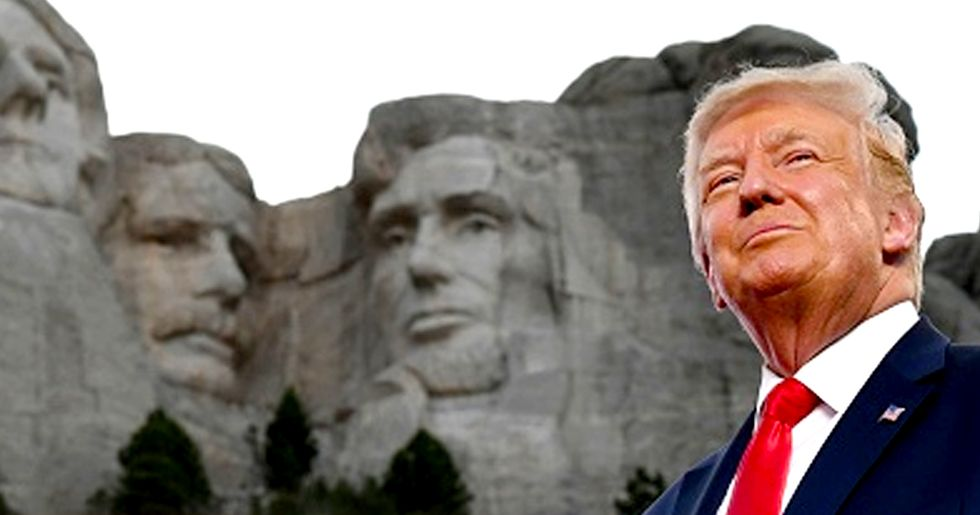 White House Asked If Donald Trump Could Be Added to Mount Rushmore
