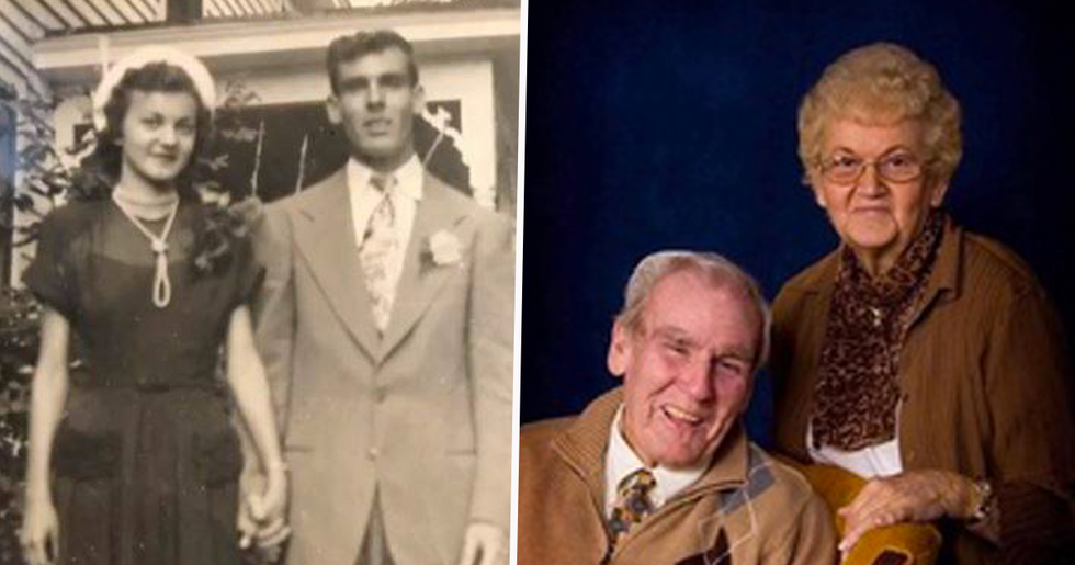 Wife Died Of Broken Heart Moments After Watching Husband of 70 Years Pass Away