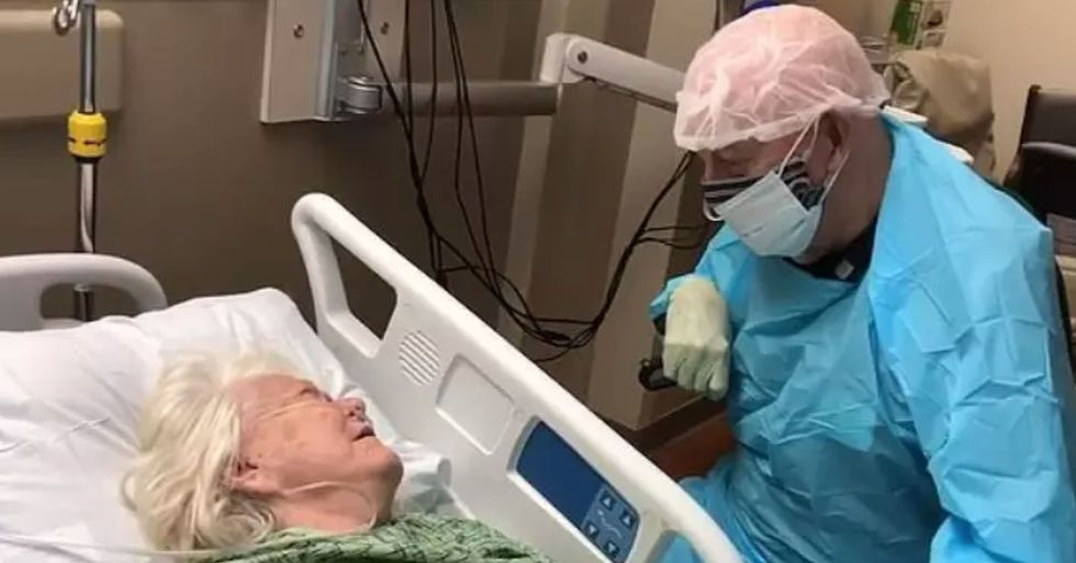 90-Year-Old Man Who Insisted On Seeing his Wife Who Had Coronavirus on Death Bed Also Dies