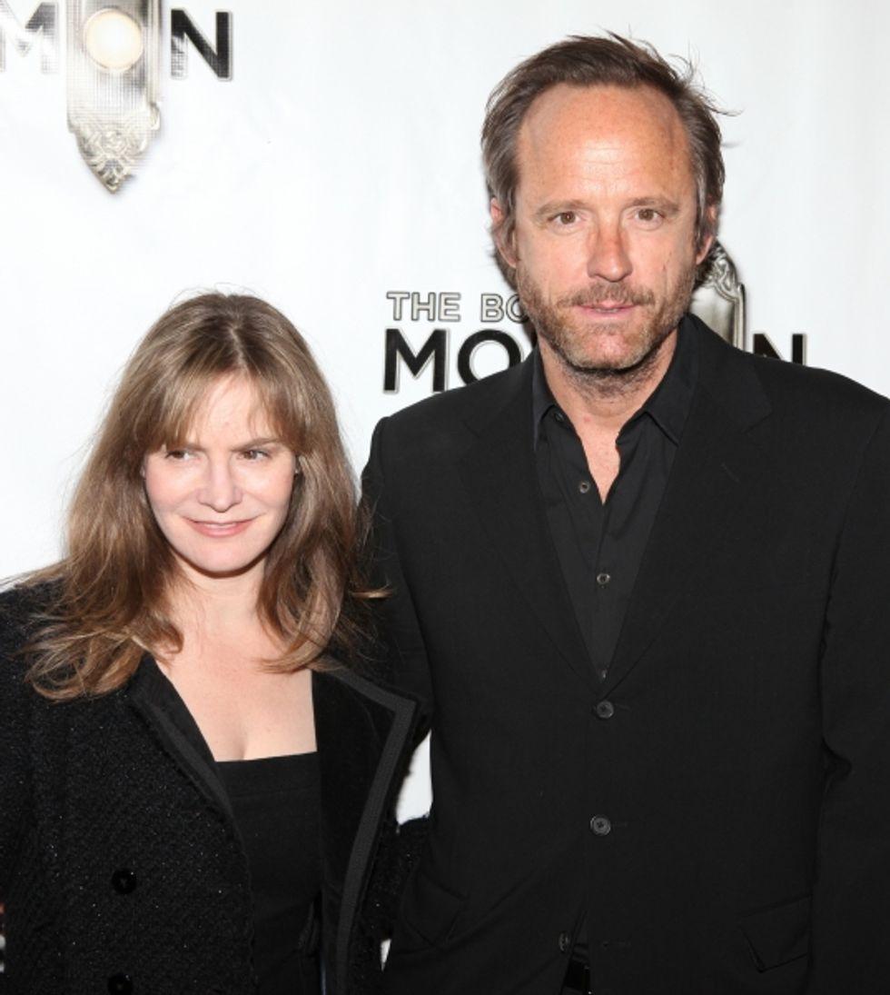 New Couple Alert: Jennifer Jason Leigh and John Benjamin Hickey?