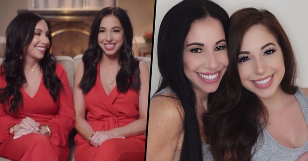 Mom and Daughter With 30-Year Age Difference Look so Alike Their Husbands Can't Tell Them Apart