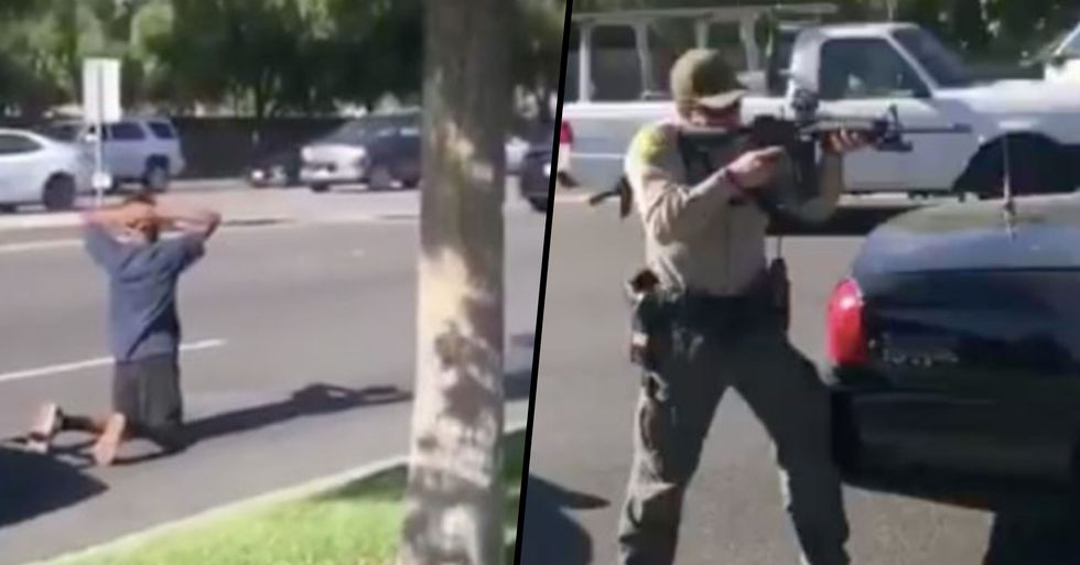 Video Shows Police Aiming Guns at Black Teens Who Called Them Because They Were Victims