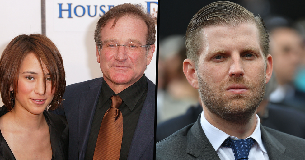 Robin Williams' Daughter Zelda Slams Eric Trump for Sharing Viral Video of Her Late Father