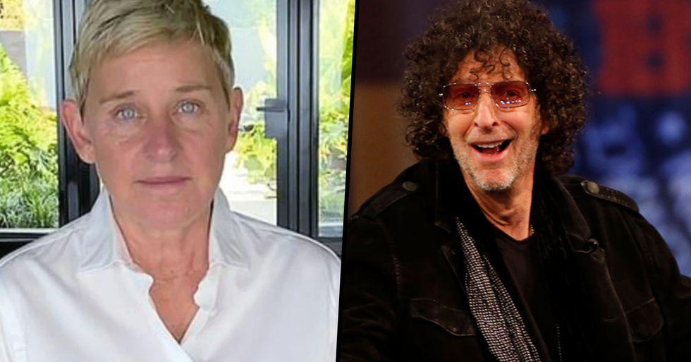 Howard Stern Tells Ellen DeGeneres 'If You're a Jerk, Own It'