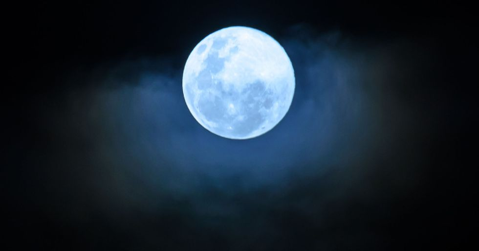 A Rare Blue Moon Will Light up the Sky This Halloween