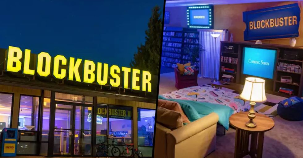 Last Remaining Blockbuster Has Been Converted Into an Airbnb