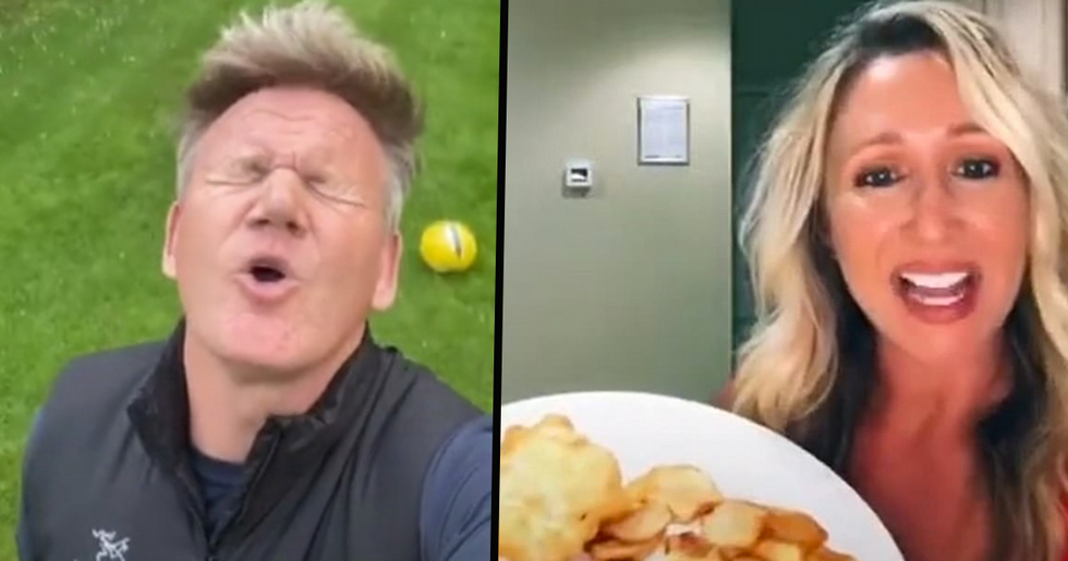 Gordon Ramsay Slams US Woman for Her Attempt at Making 'British Fish and Chips'