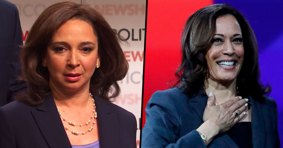 Maya Rudolph Is Ready to Report for Duty as Kamala Harris on SNL