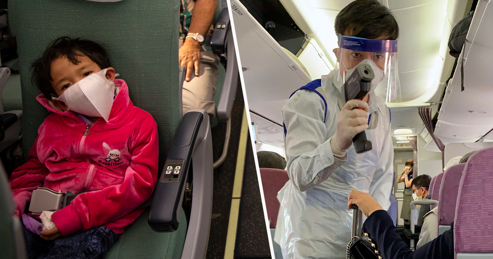 Mom 'Thrown off Flight' After 3-Year-Old Autistic Son Refuses to Wear Mask on the Plane