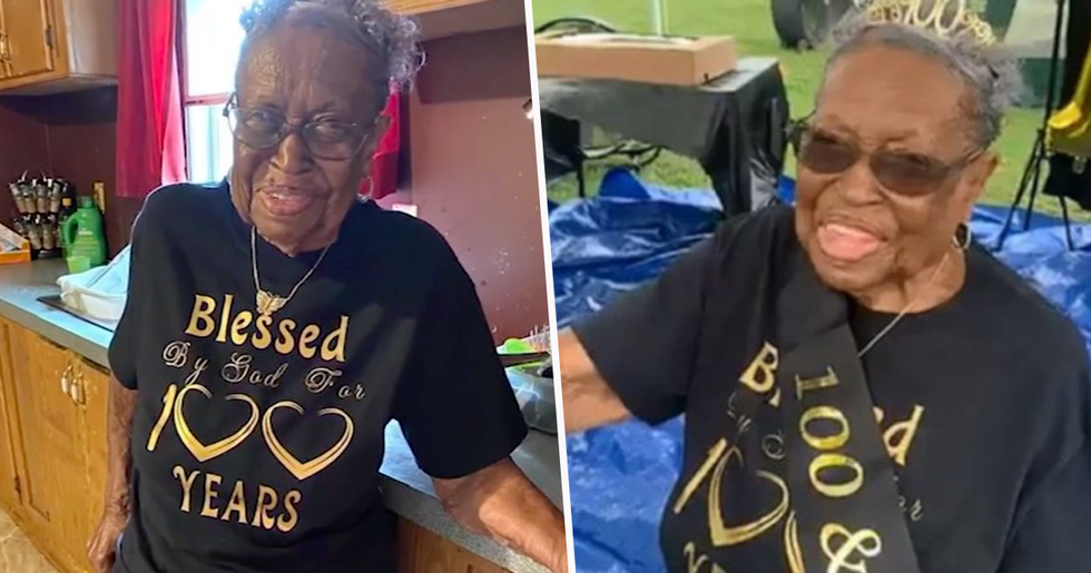 Great-Great-Great Grandma With 173 Family Members Celebrates 100th Birthday