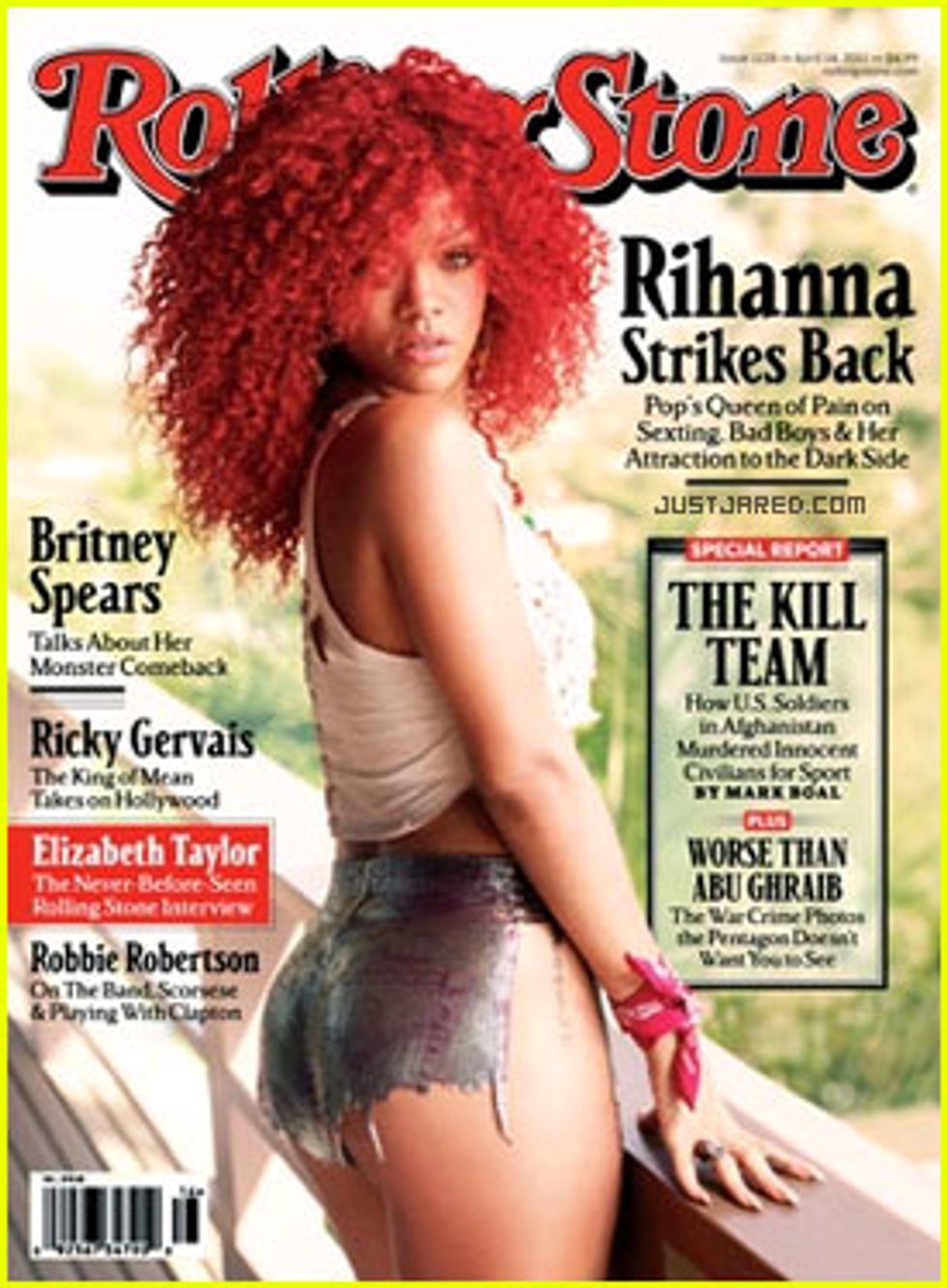 Macy's Love, Twitter Madness & Rihanna's Short Shorts in Today's Style Scraps