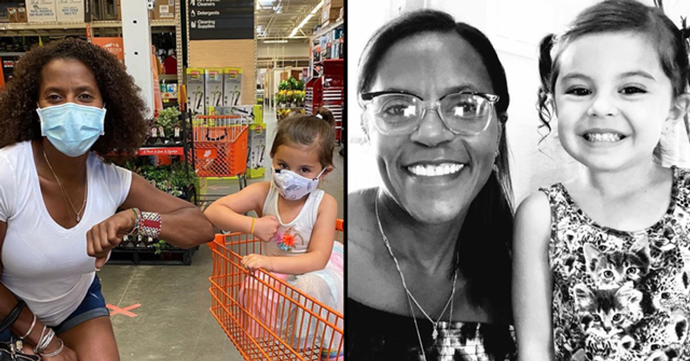 4-Year-Old Girl Yells 'Black Lives Matter' at Woman in Home Depot and Now They're Best Friends