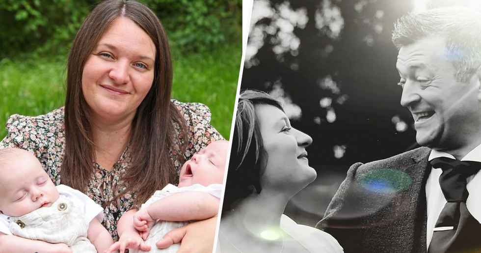 Heartbroken Widow Gives Birth to Husband's Twins Three Years After He Died