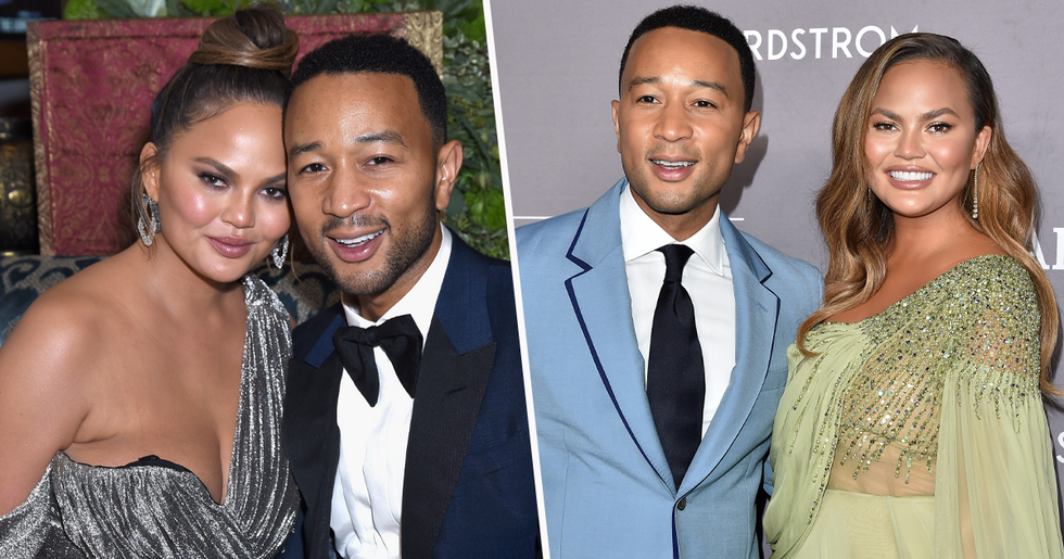 Chrissy Teigen Slammed for Her Pregnancy Announcement