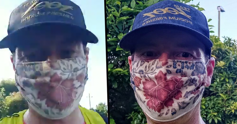 Doctor Runs 22 Miles With Face Mask on to Prove Their Don't Impair Oxygen Levels