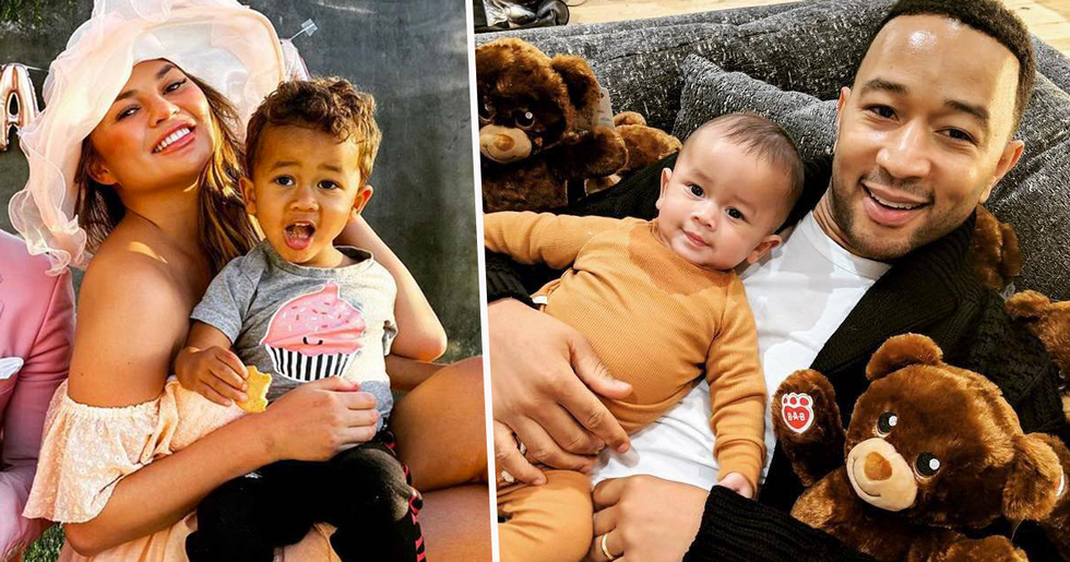 Fans Feel Sorry For Chrissy Teigen and John Legend's Son Miles After Baby Announcement