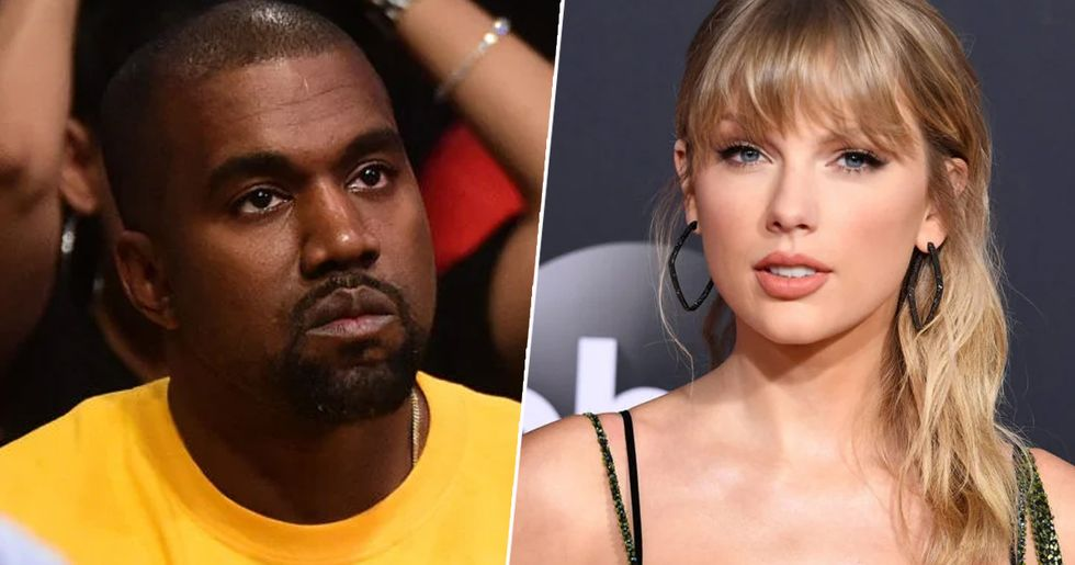 Kanye West 'Roasts Taylor Swift in New Tweet'