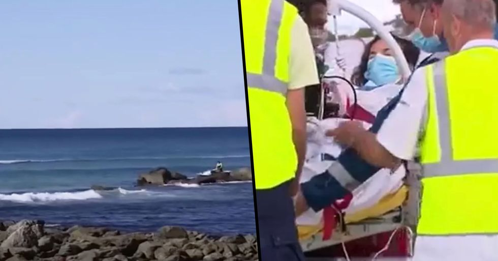 Hero Surfer Saves Wife Who Was Being Mauled by a Great White Shark