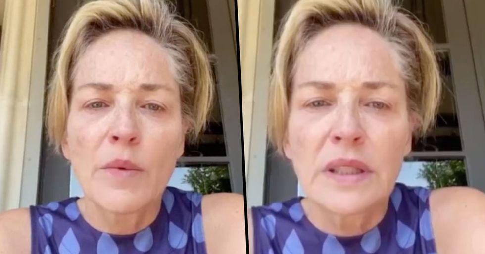 Sharon Stone Says Her Family's Been 'Ravaged' by Coronavirus and Blames Donald Trump