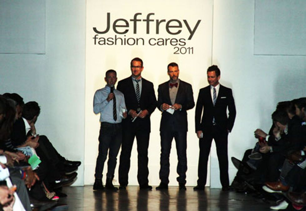 Jeffrey Fashion Cares Lands at the Intrepid Sea, Air and Space Museum