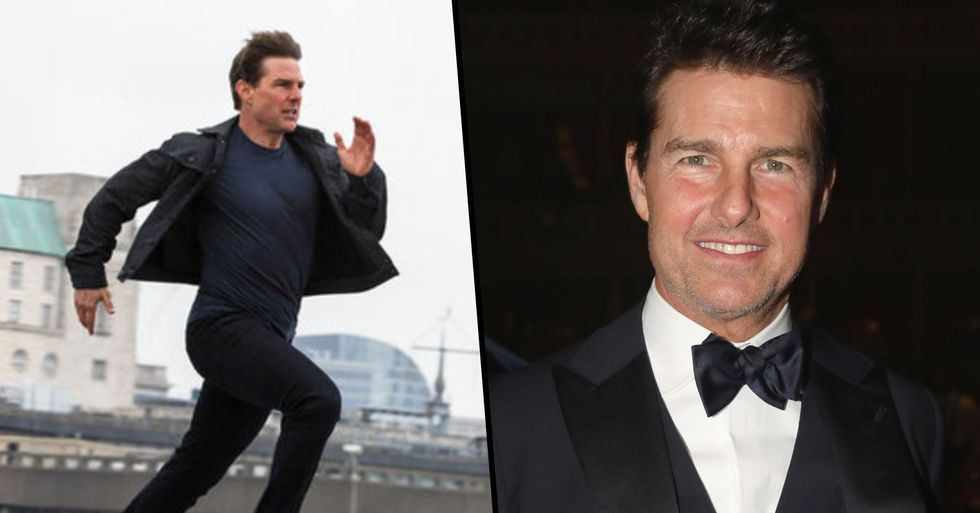 Tom Cruise Won't Let Other Actors Run Next To Him On-Screen, Former Co-Star Claims