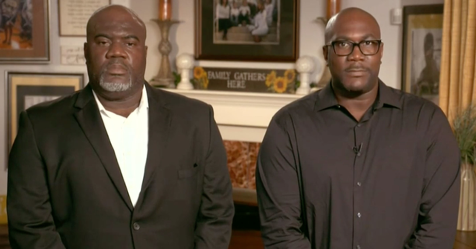 George Floyd's Brothers Make a Live Appearance During Convention to Remember Victims of Police Brutality