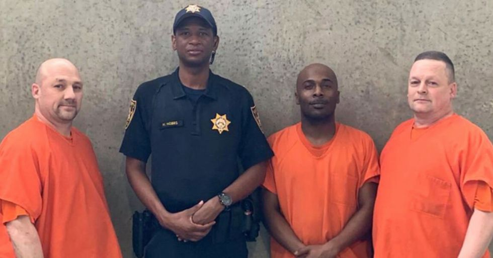Deputy Who Collapsed in County Jail Is Recovering Thanks To Inmates Who Helped Save His Life