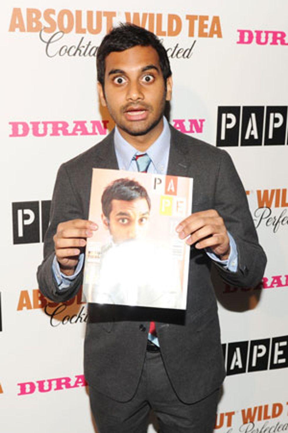 Paper's Beautiful People Party With Duran Duran and Aziz Ansari at Good Units