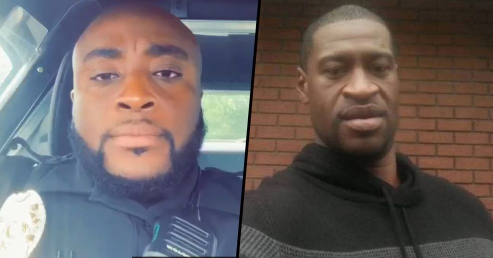 Black Police Officer Fired From Police Department For Defending George Floyd