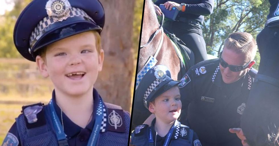 Boy Who Dreamed of Being a Cop Dies Months After Being Diagnosed With Brain Tumor