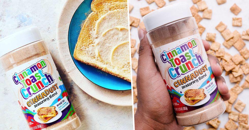 Cinnamon Toast Crunch Is Releasing 'Cinnadust' Seasoning That You Can Sprinkle on Everything