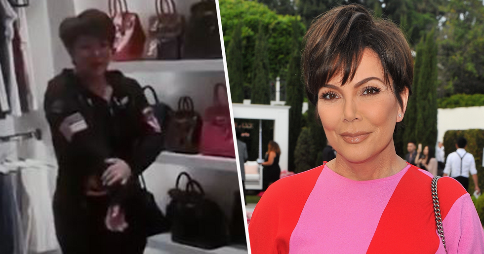 Social Media Mocks Kris Jenner For Her Reaction To Being Told Her Family Has To Go Into Lockdown