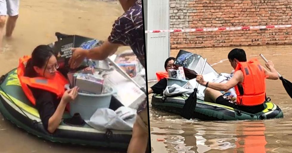 Woman Breaks Windows to Rescue Husband's Action Figure Collection During Flood