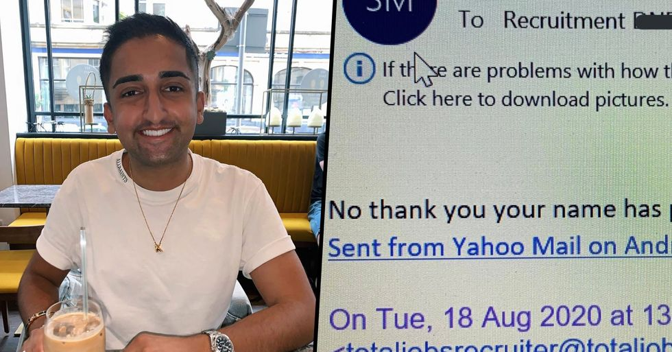 Recruiter Shames Job Applicant Who Refused an Interview Because His Name 'Put Him Off'
