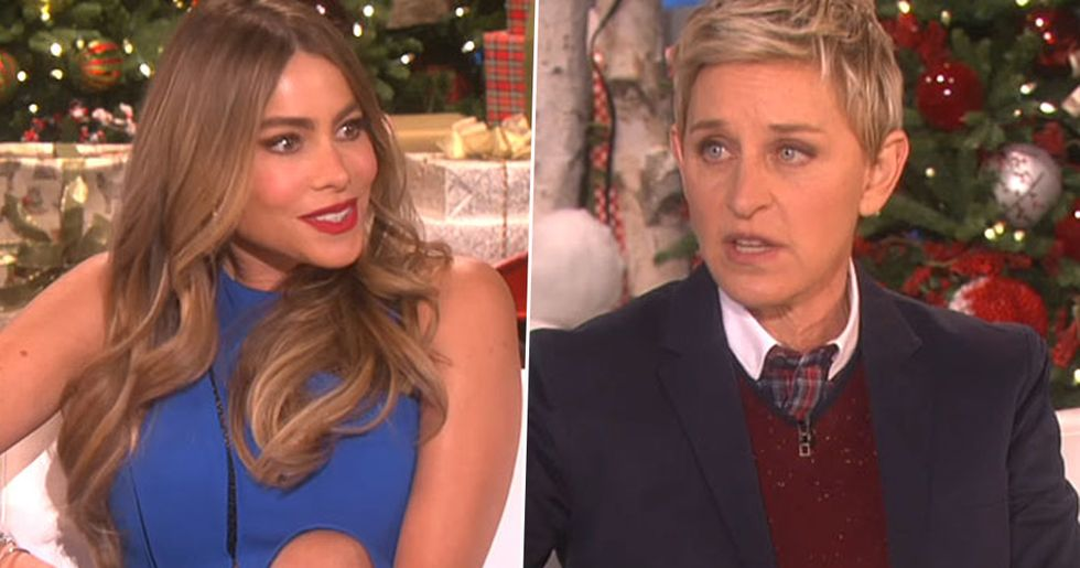 Sofia Vergara Speaks Out About Ellen DeGeneres