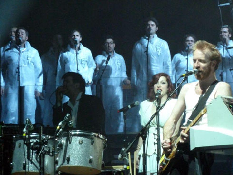 LCD Soundsystem's Back-Up Boys Revealed!