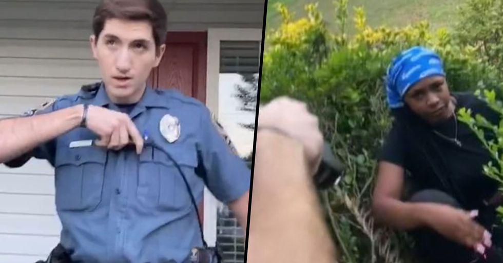 Cop Who Tasered Woman On Her Own Porch Fired By Department