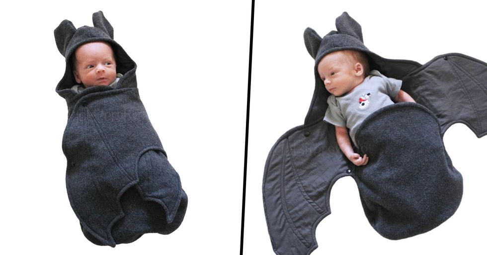 You Can Now Get a Baby Bat Swaddle Blanket and It's the Most Adorable Thing Ever