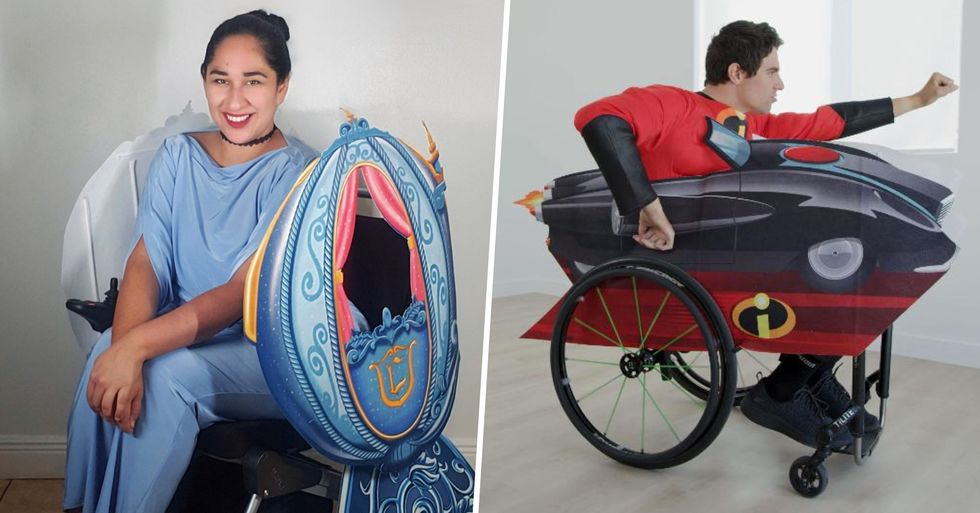 Disney Release First Ever Line of Costumes for Wheelchair Users
