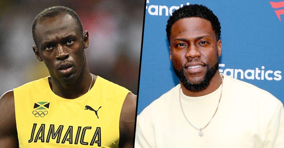 NBC News Slammed for Mistaking Kevin Hart for Usain Bolt in Photo for Coronavirus Story