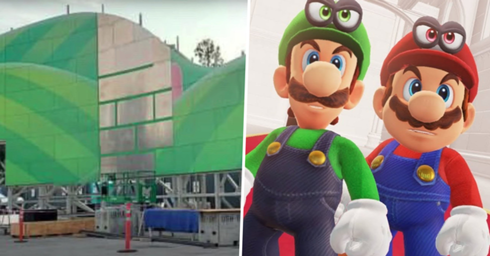 Super Nintendo World Begins Construction in Universal Studios Hollywood