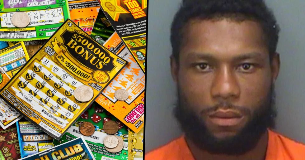 A Florida Man Tried To Cash in a $30 Lottery Ticket From the Same Convenience Store He Stole It From
